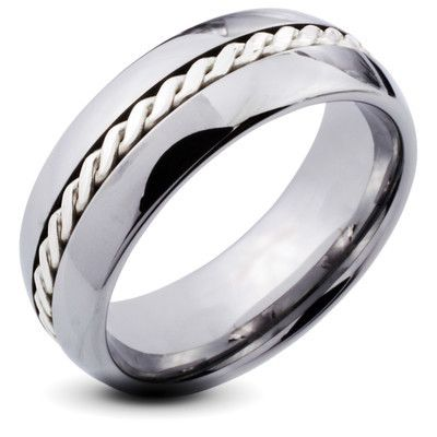 Ropes of Love Tungsten Ring for Men, $105.00 (http://www.june26.ca/ropes-of-love-tungsten-ring-for-men/)