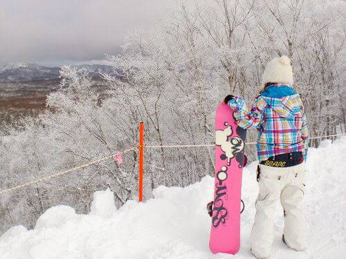 Snowboad  Hokkaido,Japan