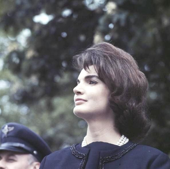 Jackie Kennedy Quotes~~One must not let oneself be overwhelmed by sadness. Jackie Kennedy  ♥❃❋✽✾❀❃ ♥    http://www.firstladies.org/biographies/firstladies.aspx?biography=36  http://en.wikipedia.org/wiki/Jacqueline_Kennedy_Onassis