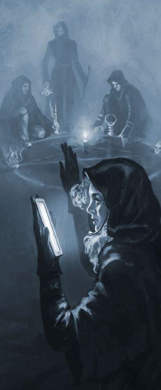Smartphone Occult Ritual