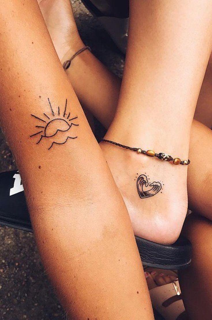 60 Best Small Tattoo Designs For Women 2019 Page 53 Of 62 Belikeanactress Com Friend Tattoos Tattoos Bff Tattoos