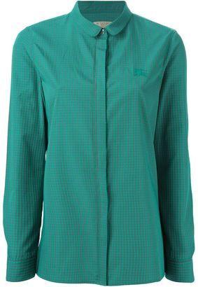 Burberry Brit gingham print shirt - Shop for women's Shirt - GREEN Shirt
