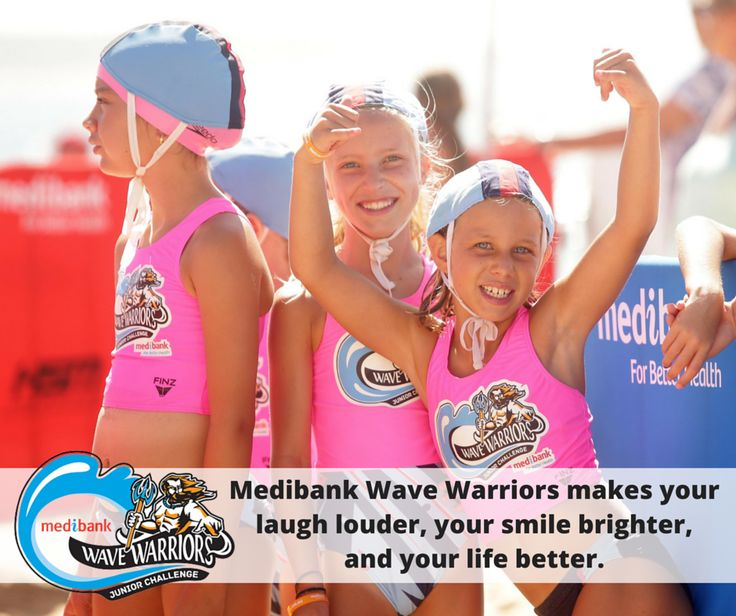 Medibank Wave Warriors makes your laugh louder, your smile brighter, and your life better.  Learn more about Medibank Wave Warriors on our website: http://bit.ly/wavewarriors  #medibankwavewarriors #medibank #wavewarriors #GenBetter