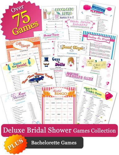 Bridal shower games invitations and decorations kayla 39 s for Non traditional bridal shower games