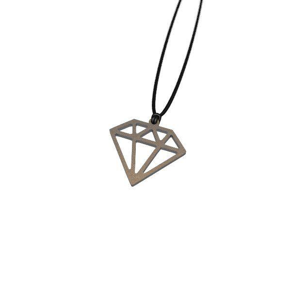 #3dprinted #Zazzy Diamante Necklace by Elena Indolfi