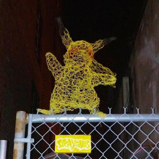 Kedi Sevdalısı Heykeltraş Strayones'tan Tel ile Tasarlanmış Kedi Heykelleri Sanatlı Bi Blog 23