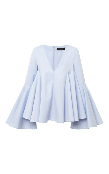 Ellery Pale Blue Lolita Top by Ellery - Moda Operandi Burda Top 03/2014 #119 Burda Top 02/2014 #111