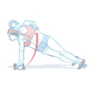 Dumbbell Side Plank Archer Rows Another new fav!