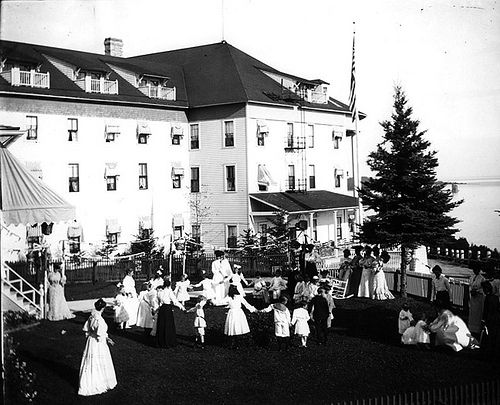 Grand Hotel, 1898 by Grand Hotel - Mackinac Island, via Flickr
