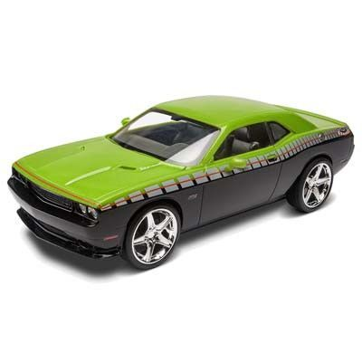 this is a 125 scale foose challenger srt8 plastic model kit from revell