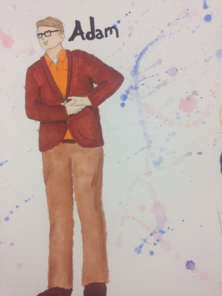 Adam  Rendering from Elly Hunt's costume design of Theory of Relativity