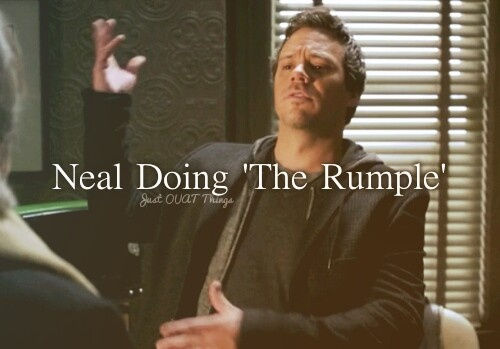 Neal Doing 'The Rumple'. He does it so accuratley in way, - Just OUAT things