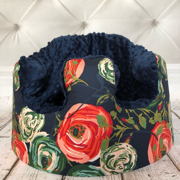 Abstract Rose Navy Bumbo Seat Cover by LittleMissPBcup on Etsy https://www.etsy.com/listing/536838890/abstract-rose-navy-bumbo-seat-cover