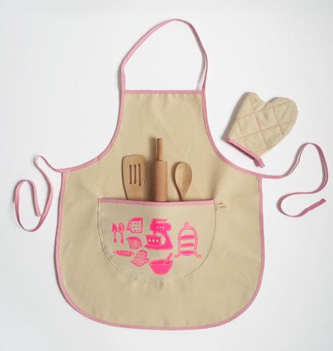 Baking apron set
