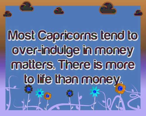 Descriptive Horoscope Capricorne