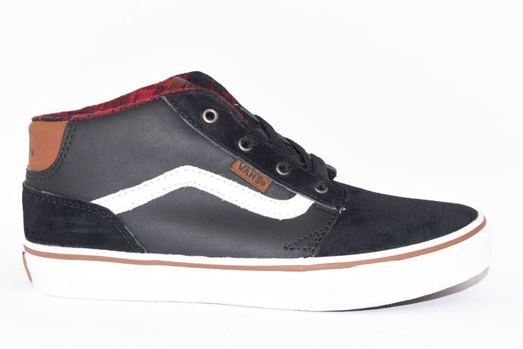 VANS VN0A2XSSK75 CHAPMAN MID MIXED BLACK TORTOISE SH J Sneakers Alta Nero Unisex