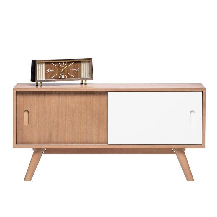 Buy White Danish Credenza Sideboard Online | Storage Solutions - Retrojan