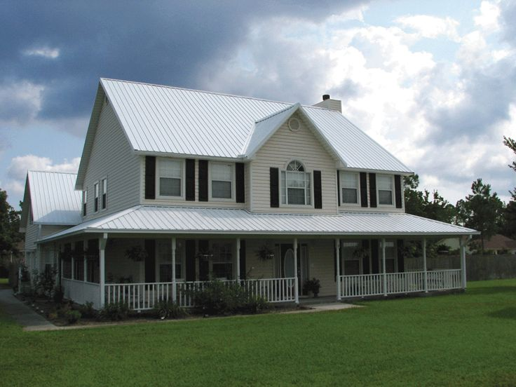 Cool White Metal Roofing Services