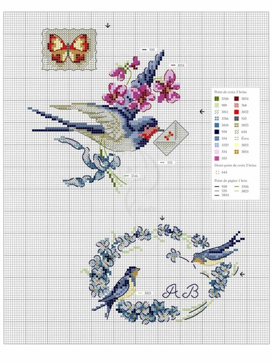 Gallery.ru / Фото #57 - Oiseauz, papillons et petites betes - Chispitas