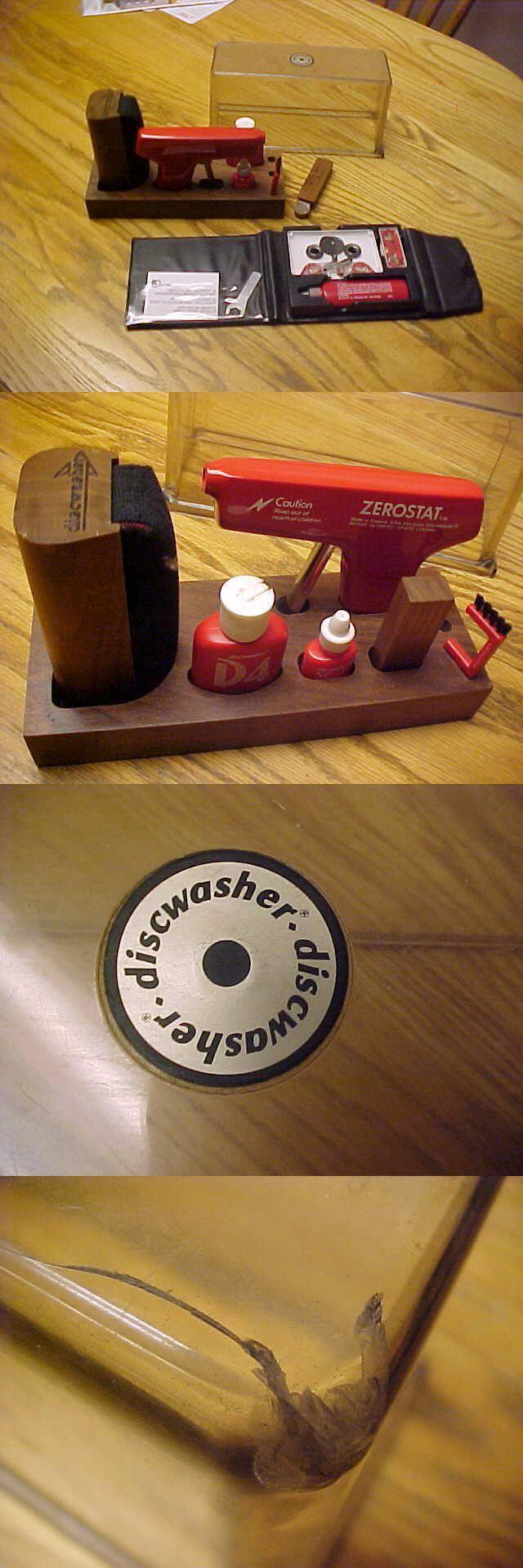 Vinyl Record Cleaning: Discwasher D3 Fluid Zerostat 3 Anti Static Gun Sc-2 Stylus Brush Cleaner Allsop3 -> BUY IT NOW ONLY: $75 on eBay!