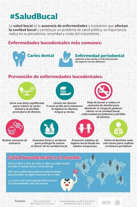 Consejos para mentener una #salud bucal perfecta: