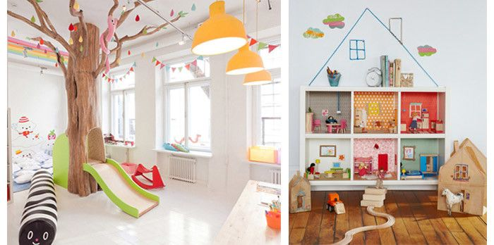 Creative kids 39 playroom decorating ideas wayfair - Interior design ideas kids playroom ...