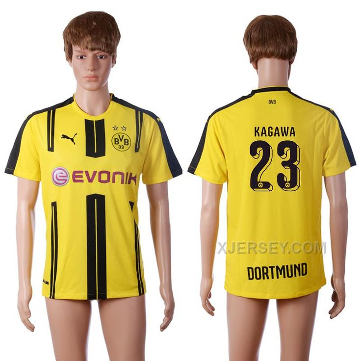 http://www.xjersey.com/201617-dortmund-23-kagawa-home-thailand-soccer-jersey.html 2016-17 DORTMUND 23 KAGAWA HOME THAILAND SOCCER JERSEY Only $35.00 , Free Shipping!