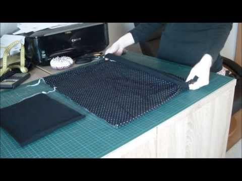 Ballonrock nähen nach eigenem Maß in 10 Minuten - YouTube