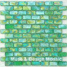 Sicis glazuur Crysta oceaan blauw glas mozaïek, gratis verzending! Tegels voor badkamer, muur, grens, trappen, veranda, keuken muur(China (Mainland))