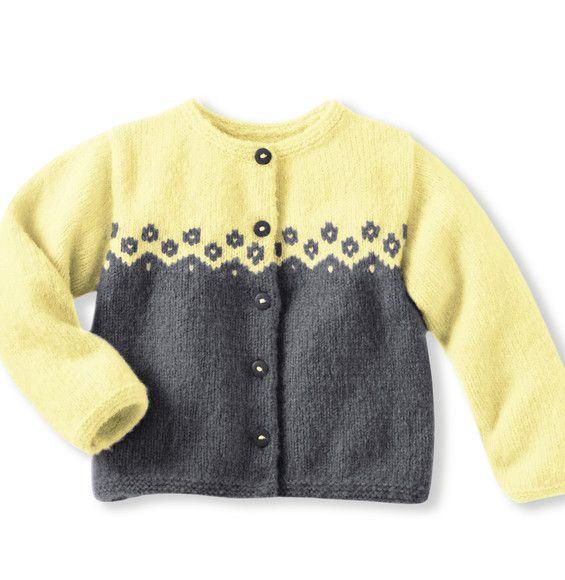 Modèle cardigan Pilou + Enfant - Modèles Enfant - Phildar