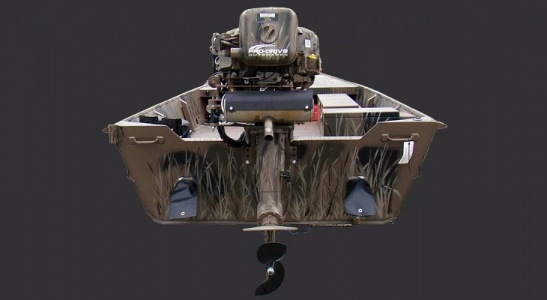 """Pro-Drive shallow water outboard motor 