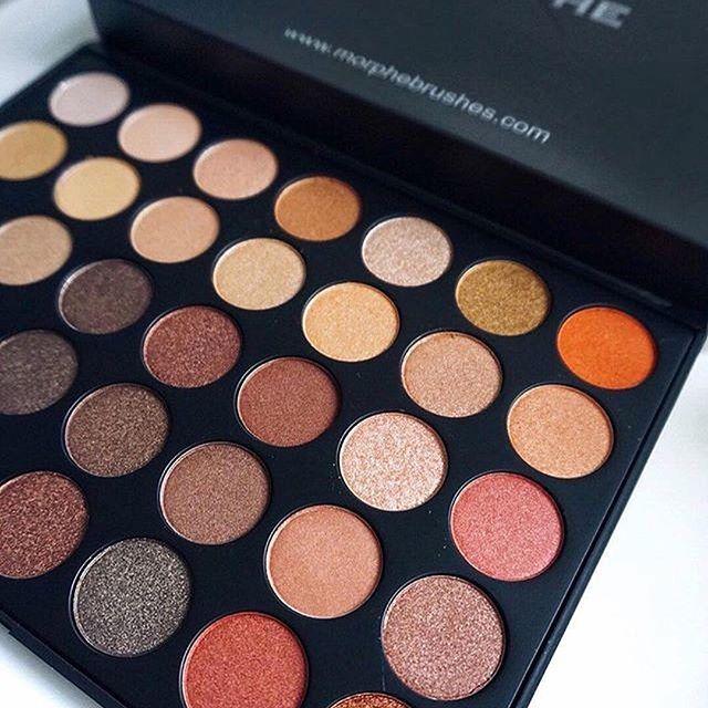 #Morphe tiene todas las peletas que te encantarán por su alta pigmentación #MorpheLovers #Eyeshadow #Palette