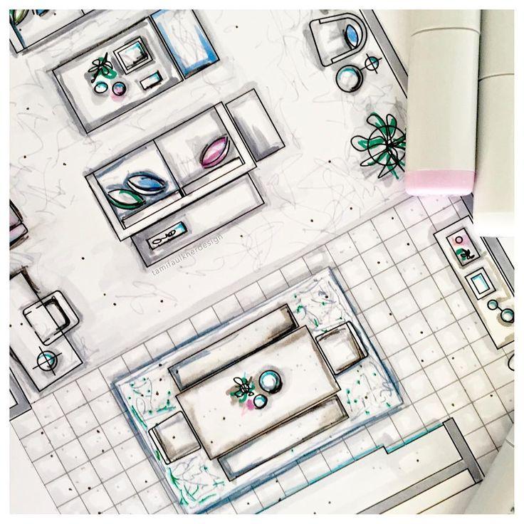 Interior Design Floor Plan Sketches 85 best planta humanizada images on pinterest | ground floor