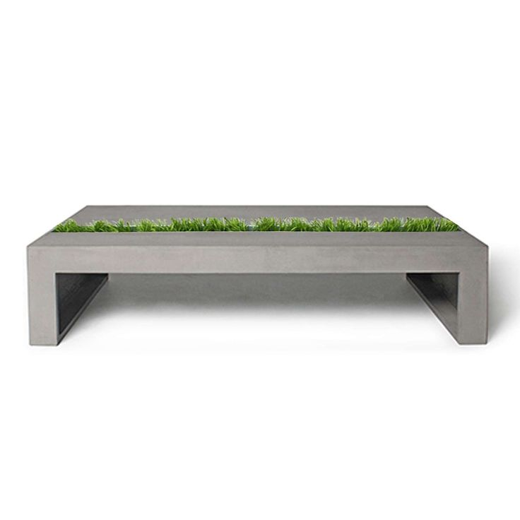 Green Coffee Table, Rectangular