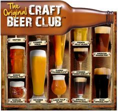 Consider a monthly beer subscription like The Original Craft Beer Club. #fathersday #gift