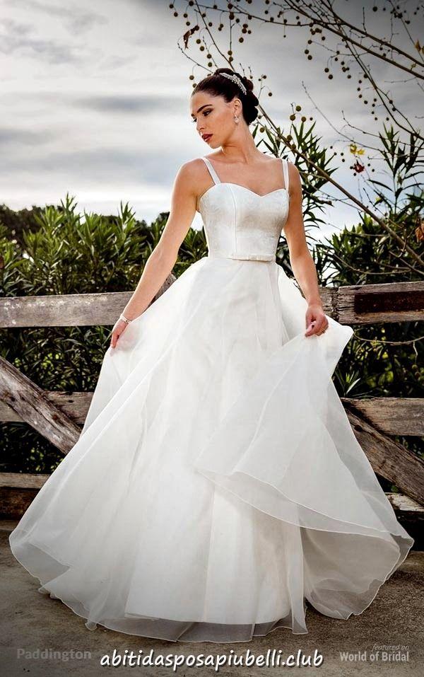 496d8382257b Matrimoni di nozze 2018 di abiti da sposa Bertossi Brides  abiti  bertossi   brides  matrimoni  nozze  sposa