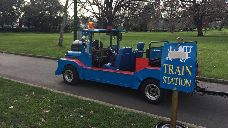 Children's train, City Park, Launceston, Tasmania