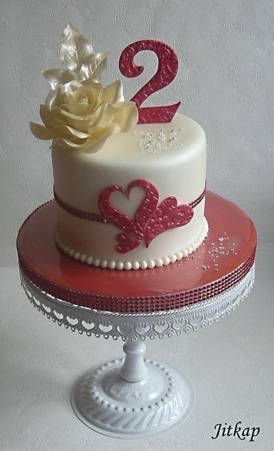 K výročí svatby - Cake by Jitkap
