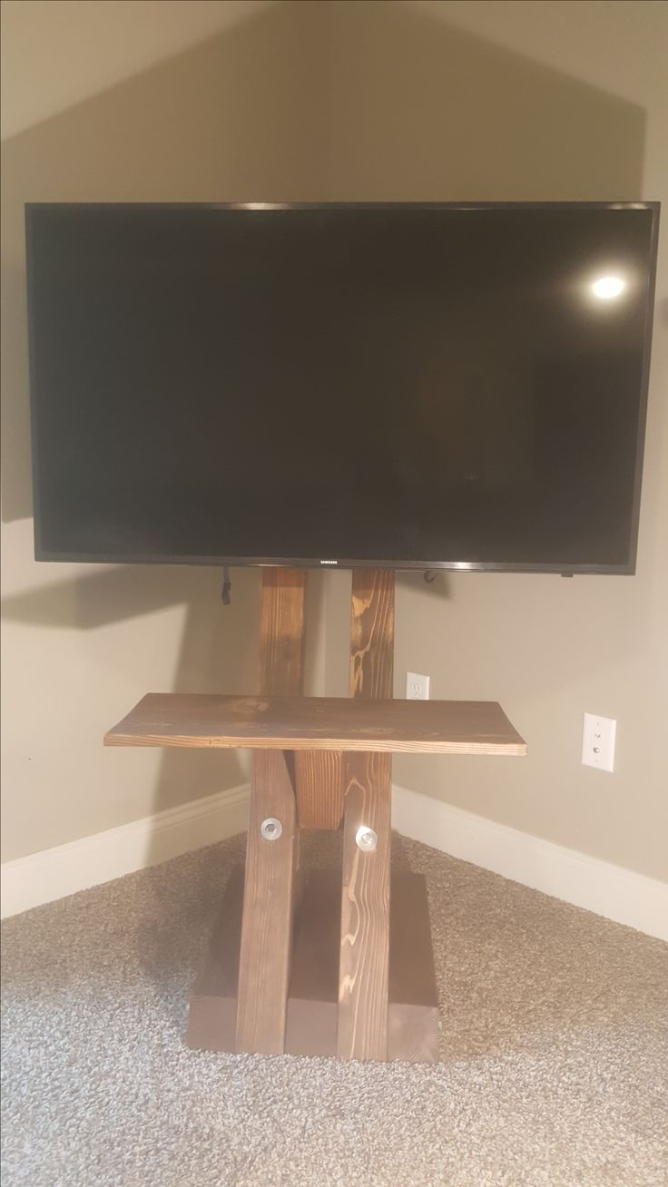 The New G Affe Free Standing Tv Mount Handcrafted And Engineered  # Lit Avec Tv Lcd Retractable Integree