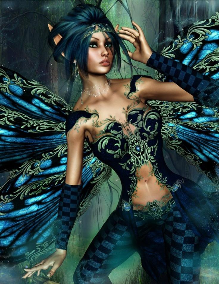 Ангелы феи русалки эльфы картинки