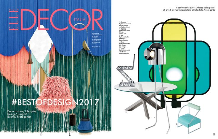 #droid #chair, #galactica collection, design by #AntonioAricò for #altreforme, published on ELLE DECOR #italy, september 2017, #interior #home #decor #homedecor #furniture #aluminium #woweffect #madeinitaly
