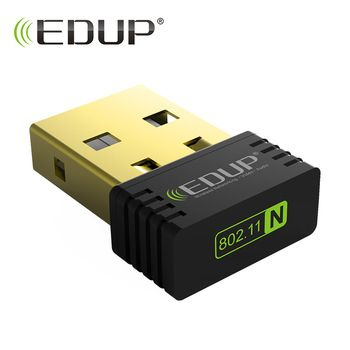 EDUP mini wi-fi wireless adapter 150mbps high quality wifi receiver 802.11n usb ethernet adapter wifi network card for notebook  Price: 3.54 USD