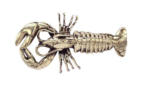 Larry the Brass Lobster   Mr Pinchy and Co   Luxury Decor – Salt Living or online at www.saltliving.com.au #saltliving #mrpinchyandco #brass #handmade
