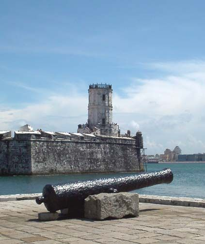 #Veracruz, San Juan de Ulua, the Spanish #fort that protected the trade in and out of #Mexico.