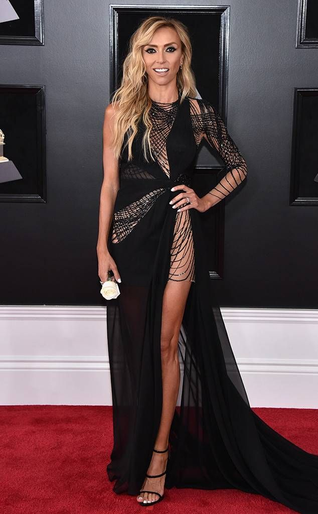 Giuliana Rancic, 2018 Grammy Awards, Red Carpet Fashions