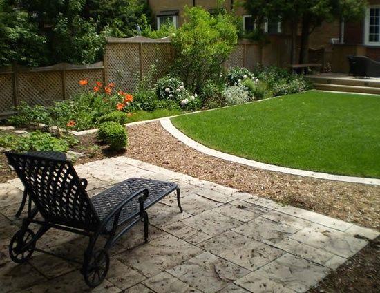 Backyard Landscape Ideas On A Budget best 25+ townhouse landscaping ideas on pinterest | city style