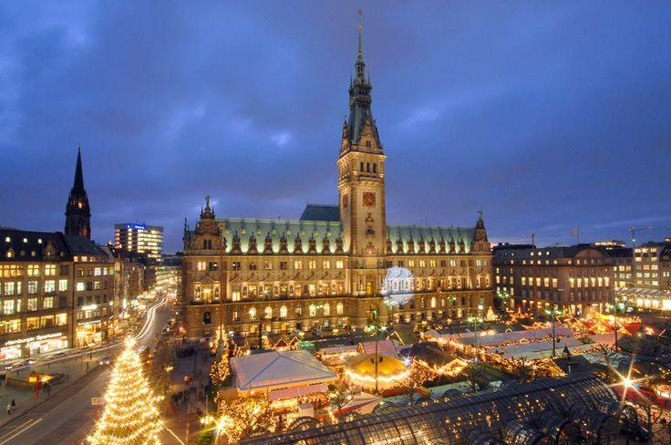 ✝☮✿★ HAMBURG ✝☯★☮ Historischer Weihnachtsmarkt auf dem Rathausmarkt