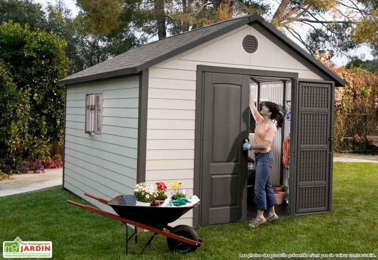 Abri de jardin, arbi de jardin PVC, abri de jardin plastique, abri pour jardin