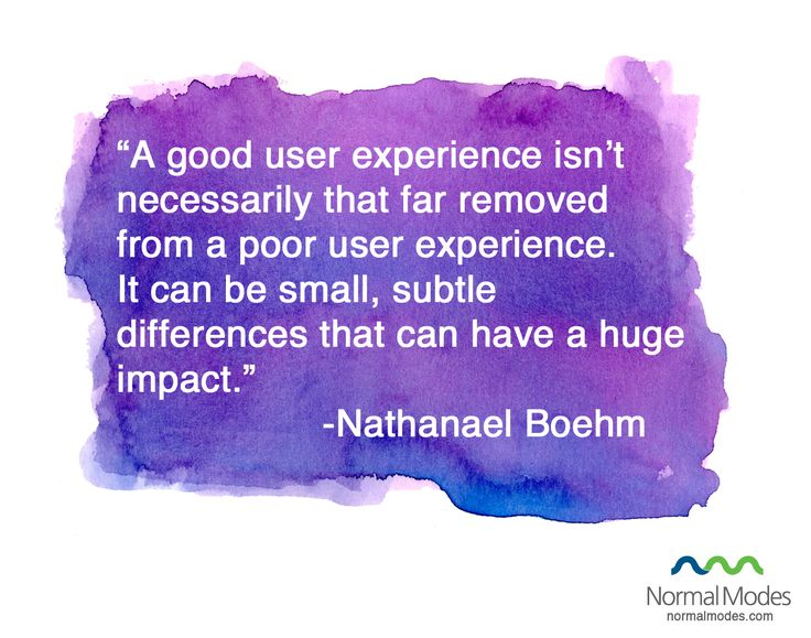 User-Experience Quotes