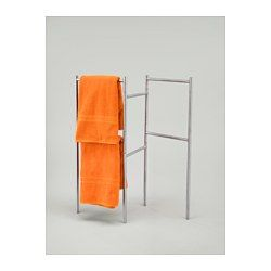 Ikea towels and stainless steel on pinterest for Ikea towel stand